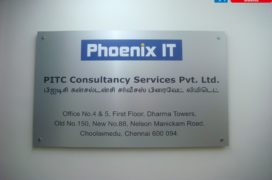 ACP Sign vinyl pasted
