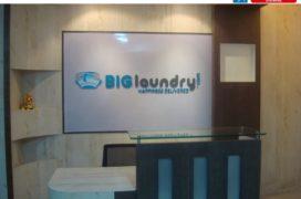 Acrylic Logo & Ltrs - Big Laundry L
