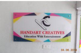 Acrylic Name Board