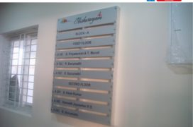 Aluminium Frame Directory Sign, 30x42, Rs.22000