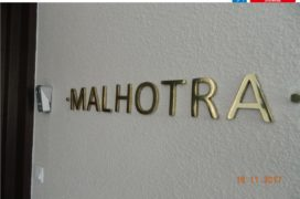 Brass Die-Casting Letters