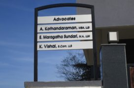 Directory Signage For Advocator