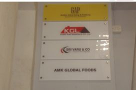 Golden Advertising - Acrylic Digital printing sticker
