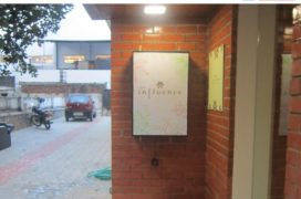 Nonlt Sign with Digital Print, Spa Influence