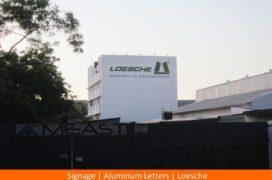 Signage, ALuminium Letters, Loesche