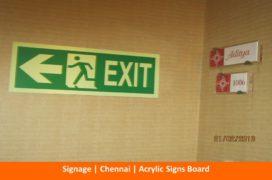 Signage, Acrylic Signs