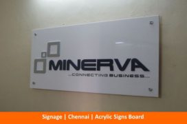 Acrylic Sign Boards, Letters, Name Board Manufacturers Chennai