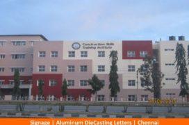 Signage, Aluminium Diecasting Letters, Chennai