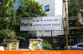 Signage, Hurix, Glow Sign Board