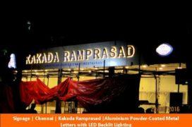 Signage, Kakada Ramprasad, Aluminium Ltrs N