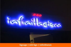 Signage, LED Sign, Infinithesim
