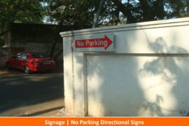 Signage, No Parking Signs1