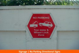 Signage, No Parking Signs2