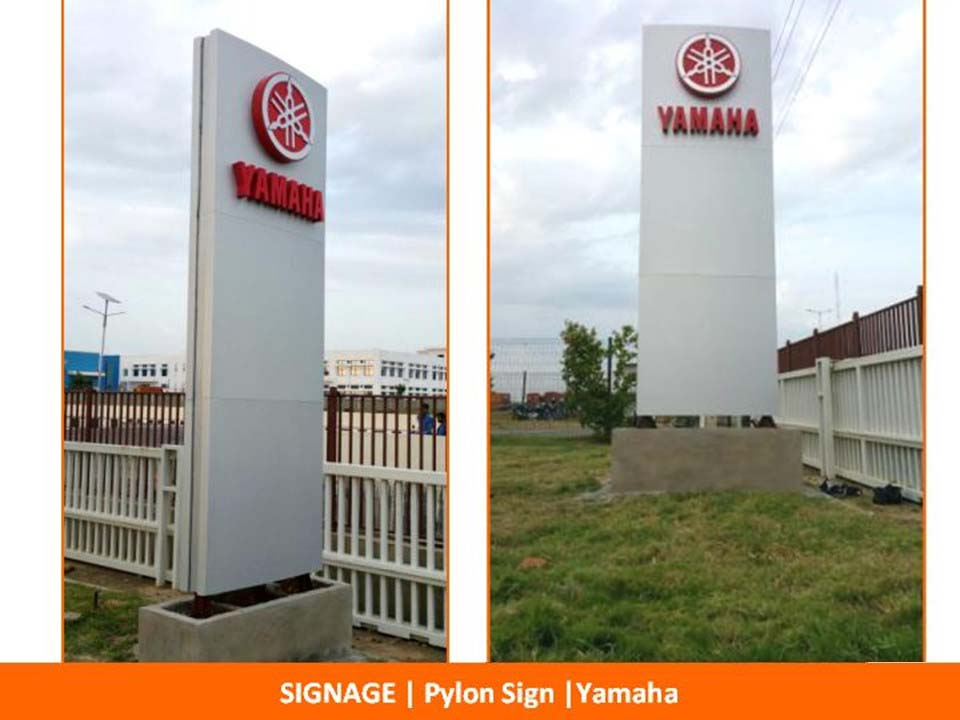 Pylon Sign Boards Amp Signs Manufacturers Masterpieces