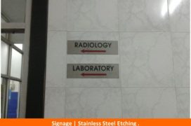Signage, Stainless Steel Etching Plate (10)