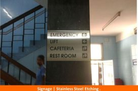 Signage, Stainless Steel Etching Plate (11)