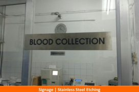 Signage, Stainless Steel Etching Plate (12)
