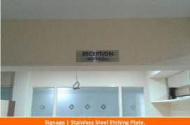 Signage, Stainless Steel Etching plate (3)