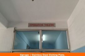Signage, Stainless Steel Etching plate (4)
