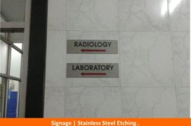 Signage, Stainless Steel Etching plate (5)