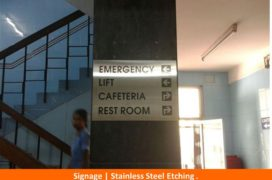 Signage, Stainless Steel Etching plate (6)