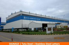 Signage, Tata Steel, Stainless Steel Letters (2)