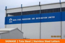 Signage, Tata Steel, Stainless Steel Letters