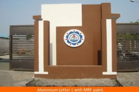 Signage,ALuminium Letter with MRF paint