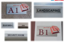 Stainless Steel Etching Signs, Malles Constructions