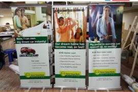 IG - Signage, Roll-Up Standees, KVB