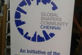 Roll Up Banner for Global Shapers