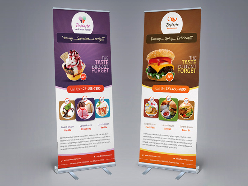 Standees Roll Up Standees Pull Up Banners Roll Up Banners
