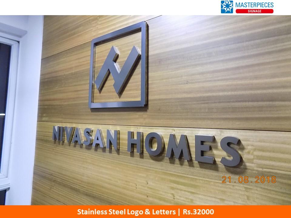 SS Logo & Letters, Nivasan Homes